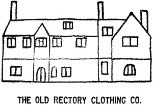 The old Rectory Clothing Co