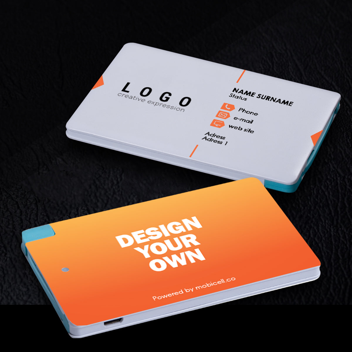 Ultra thin business card power bank charger white 2500 mah ultra thin business card power bank charger white 2500 mah mobicell colourmoves