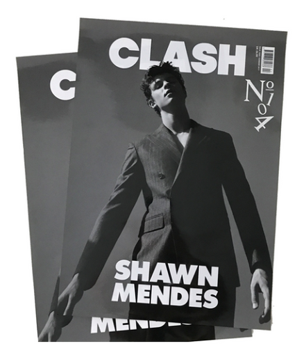 Clash Issue 104 Shawn Mendes Poster