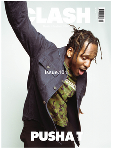 Clash Issue 101 Pusha T