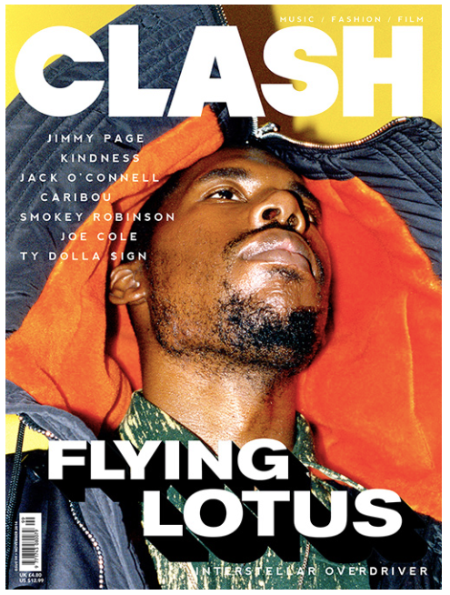 Clash Issue 99 Flying Lotus