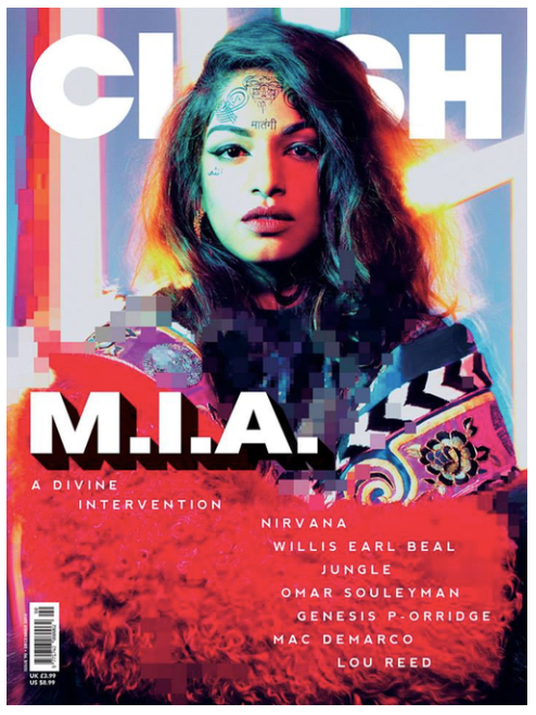 Clash Issue 90 M.I.A.