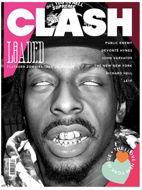 Clash Issue 83 The 'I Love New York' Issue