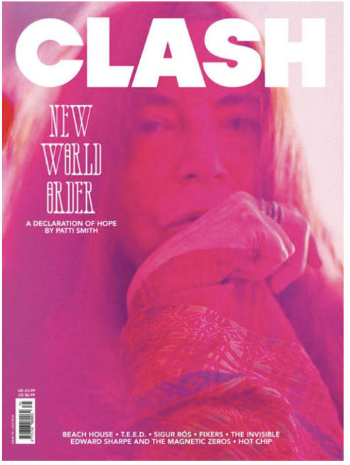 Clash Issue 75 Patti Smith