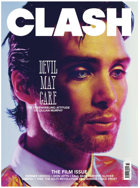 Clash Issue 73 Cillian Murphy