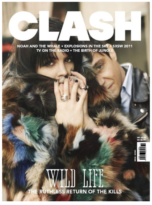 Clash Issue 61 The Kills