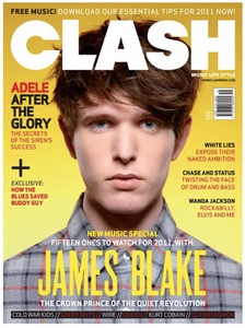 Clash Issue 58 James Blake
