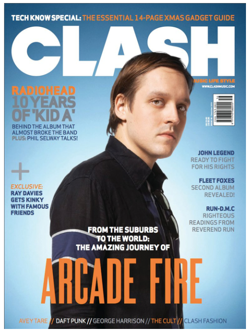 Clash Issue 56 Arcade Fire