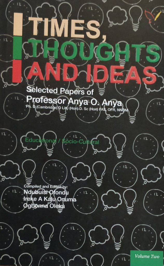 Times, Thoughts and Ideas Volume 2