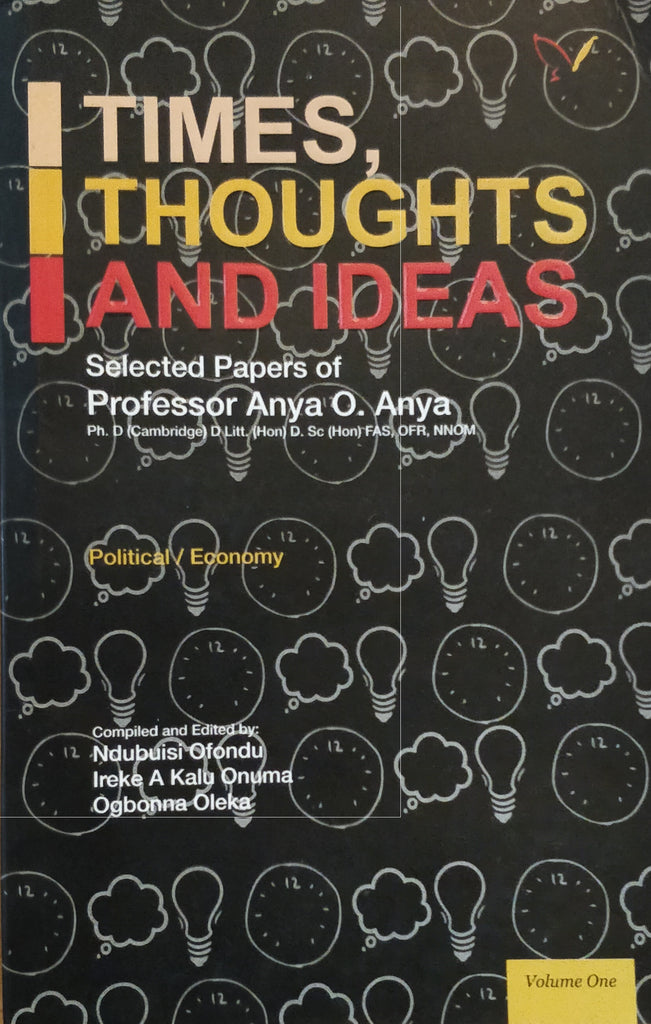 Times, Thoughts and Ideas Volume 1