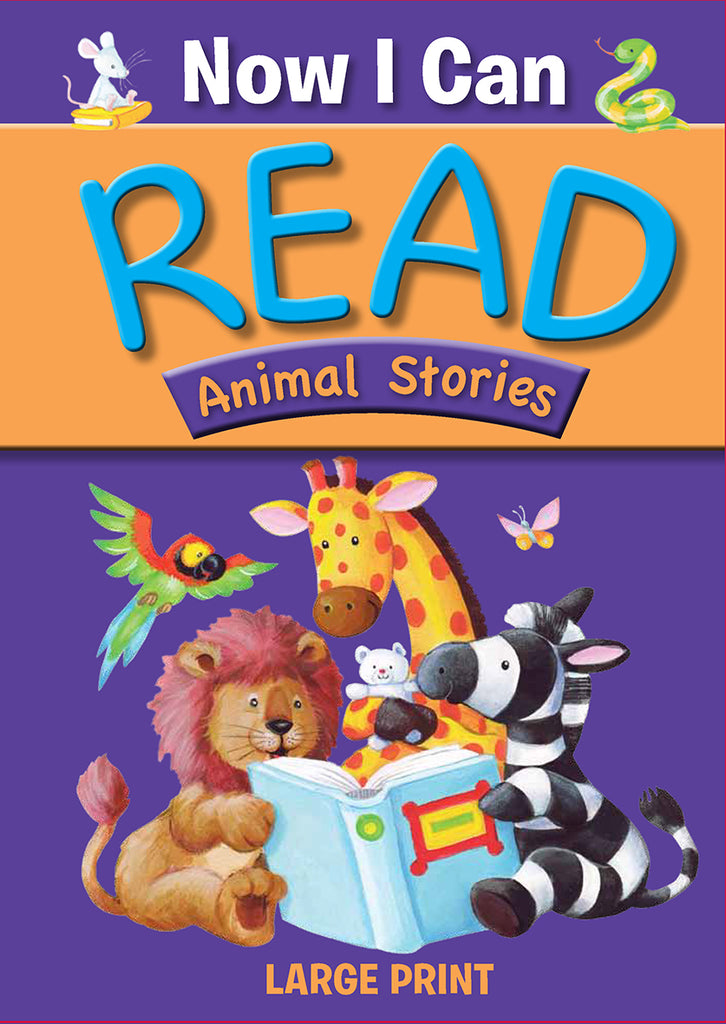 Now I Can Read Animal Stories