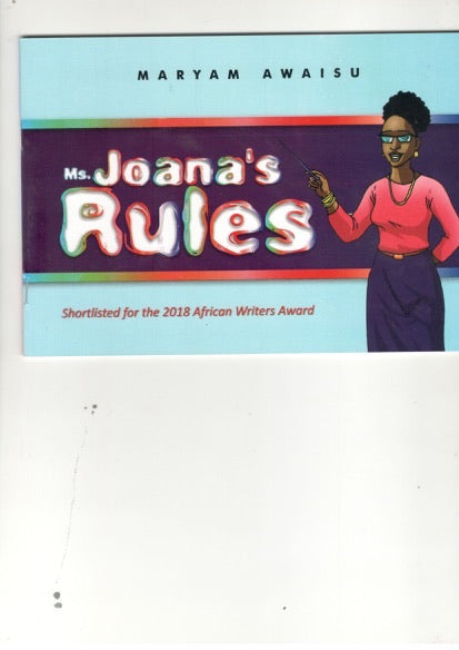 Ms Joanna's Rules