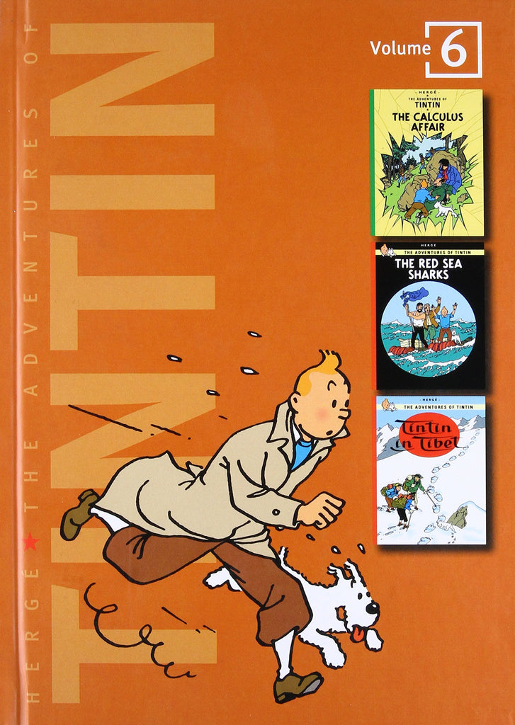 The Adventures of Tintin, Vol. 6