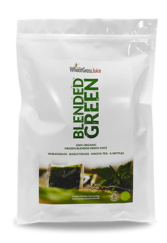 Blended Green Juice Bag