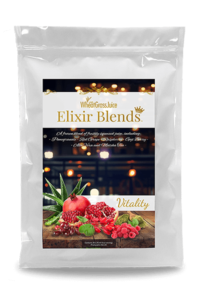 Elixir Vitality Juice Bag