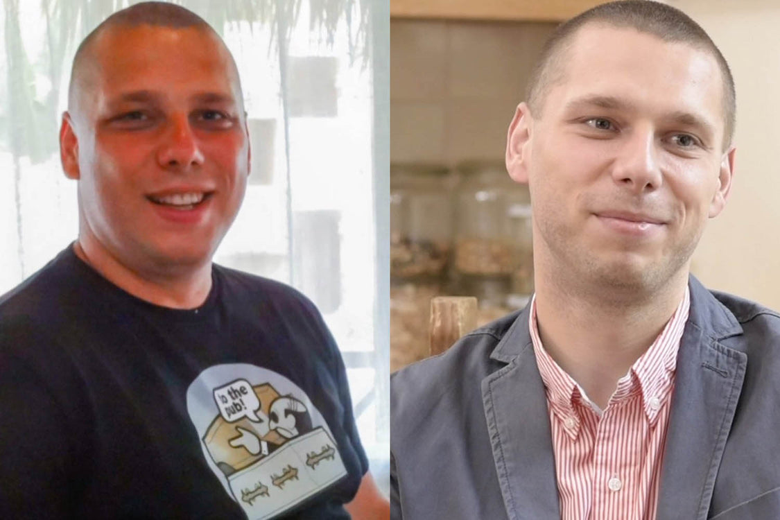 Case study: how Tomasz lost 95lbs in 6 months