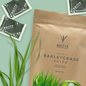 Barleygrass Juice Shots
