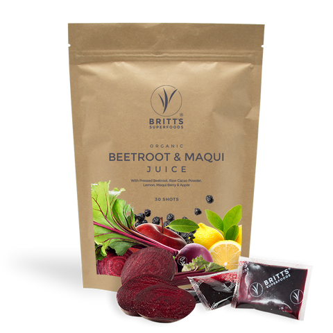 Beet & Maqui Juice Shots