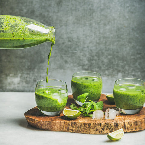 Wheatgrass Juice Shots