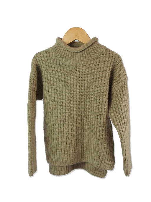 MMS-202 Rolled Turtleneck Sweater