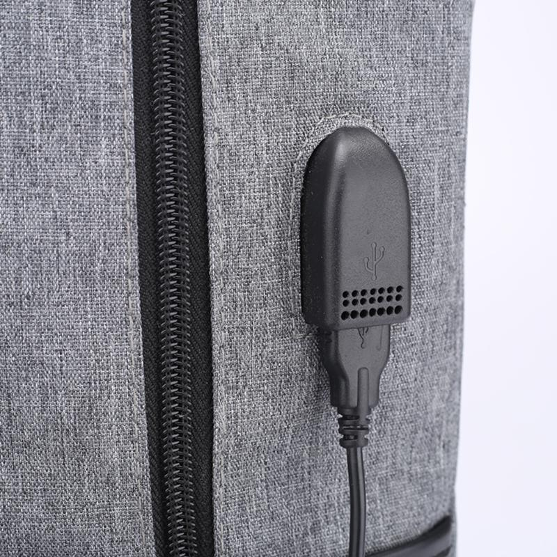 Linen Laptop Backpack