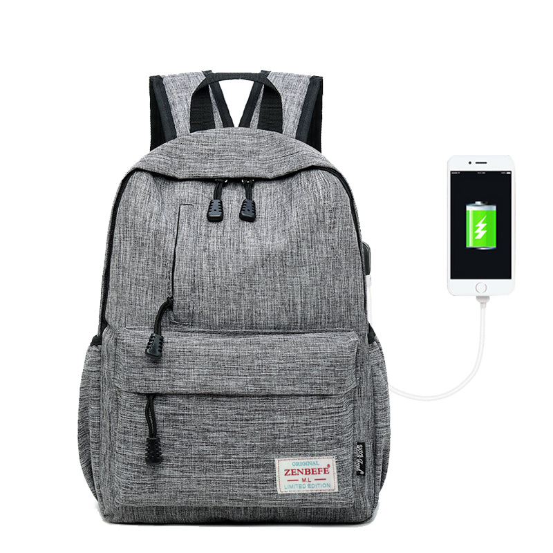 Linen Backpack