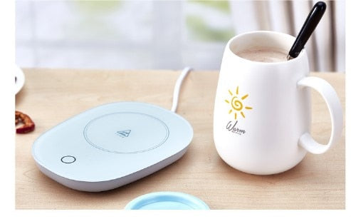 Warm cup thermostat