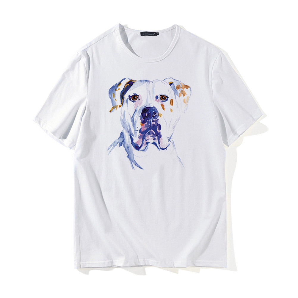 Modal Cotton Dog Tee