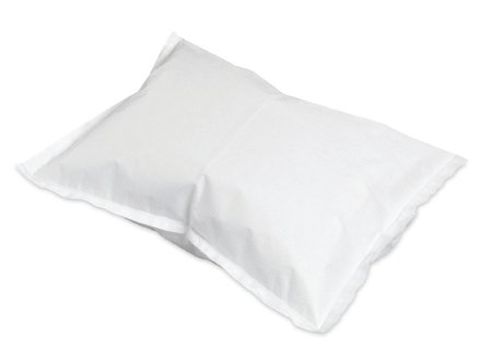 Pillowcase AOSS Standard White Disposable