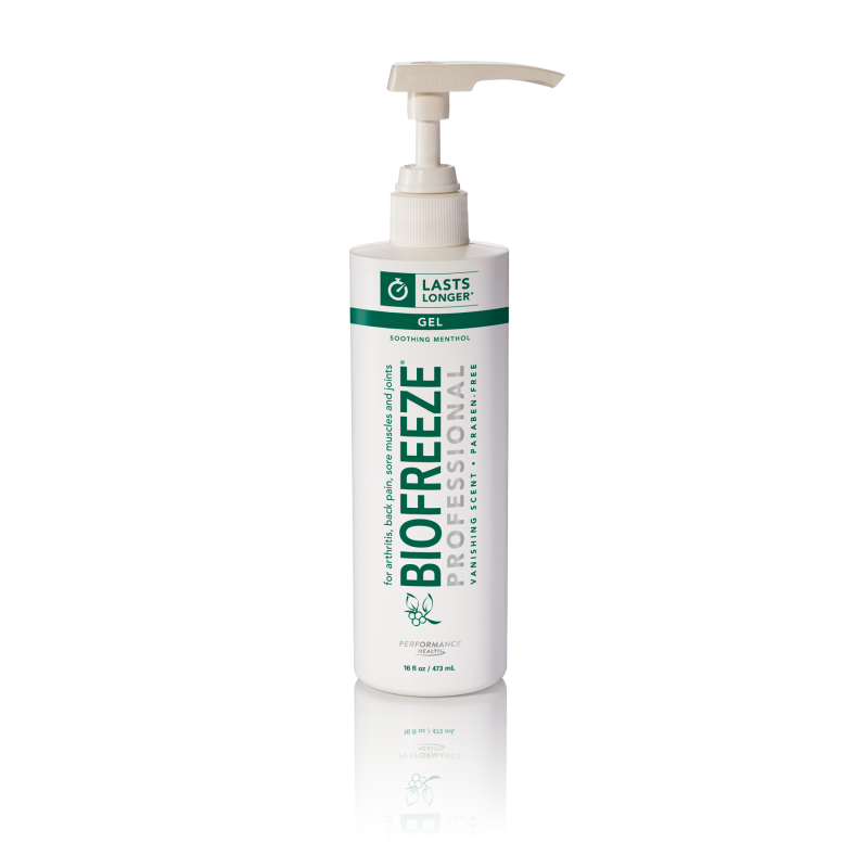 Biofreeze Professional Pain Relieving Gel Pump 16 oz.AOSS Medical SupplyPain Relieving GelAOSS Medical Supply