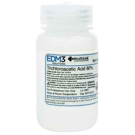 Histology Reagent Trichloroacetic Acid ACS Grade 80% 4 oz.