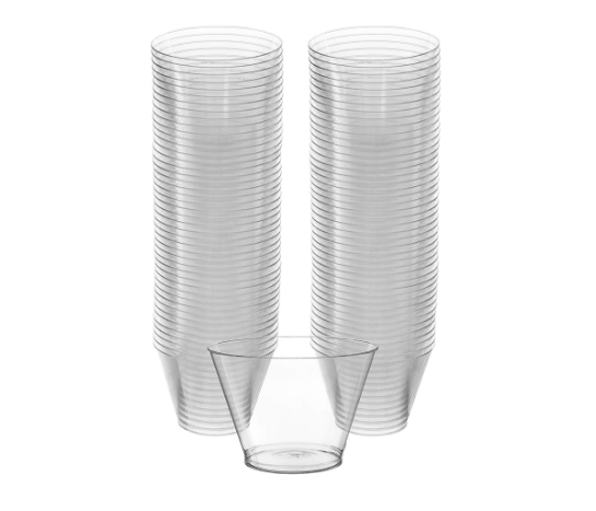 5 oz. Drinking Cup AOSS Translucent Plastic Disposable