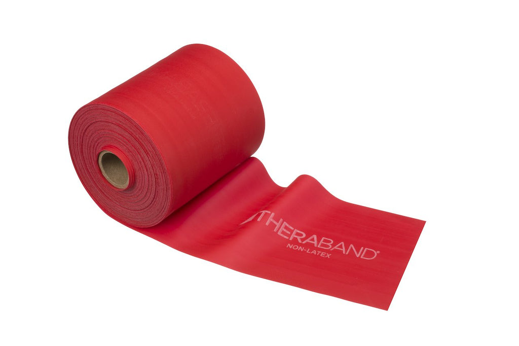 TheraBand Professional Non-Latex Resistance Bands Red- MediumAli MedTherabandAOSS Medical Supply