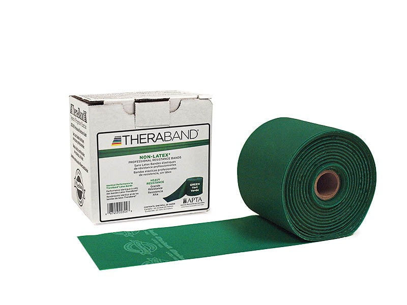 TheraBand Professional Non-Latex Resistance Bands Green-HeavyAli MedTherabandAOSS Medical Supply