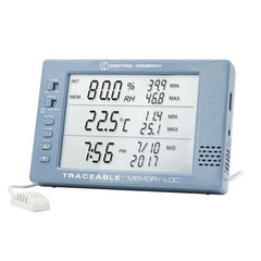 Memory-Loc™ Datalogging Traceable® Hygrometer