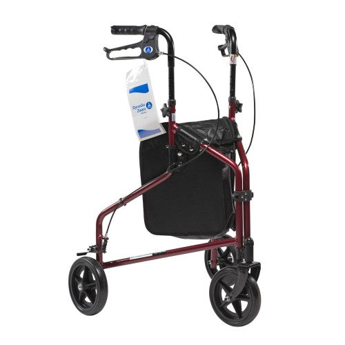 "DynaGo Zoom - Aluminum Rollator with 3"" Wheels, Red, 1pc/csDynarex CorporationRollatorAOSS Medical Supply"