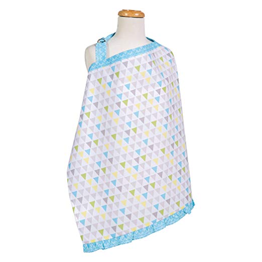 Triangles Multicolor Nursing CoverTrend LabNursing CoverAOSS Medical Supply
