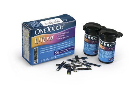 Blood Glucose Test Strip OneTouch® Ultra® 50 Test Strips per Box