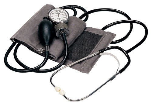Self Taking Manual Blood Pressure Kit - Logical® OmronOmron Healthcare, Inc.Blood Pressure KitAOSS Medical Supply
