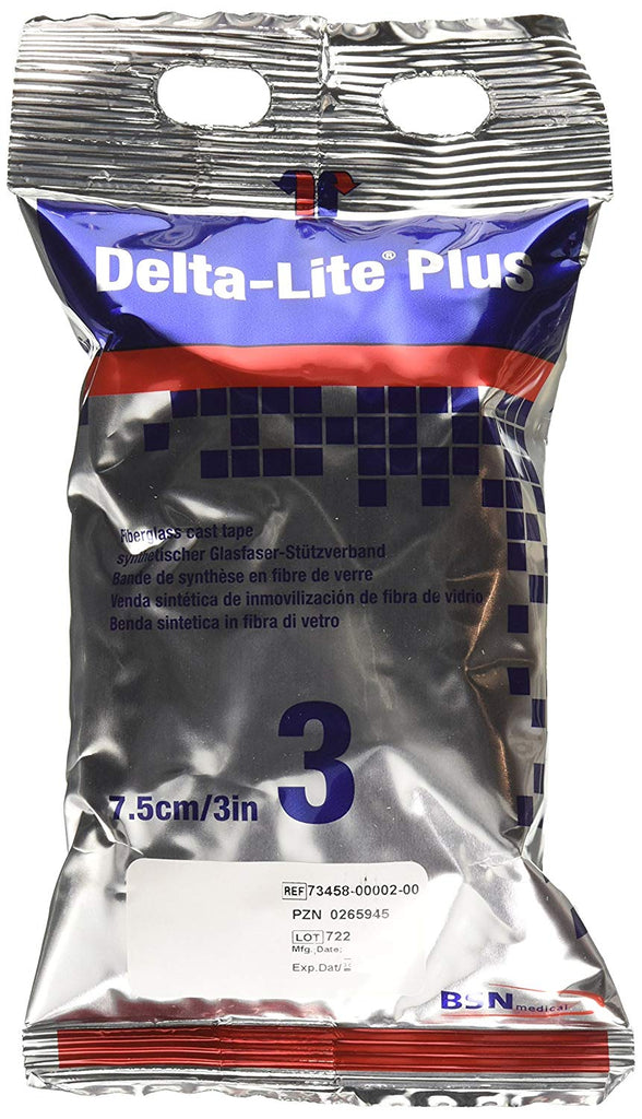 Cast Tape Delta-Lite® Plus Fiberglass / Polyurethane WhiteBSN MedicalOrthopedicAOSS Medical Supply