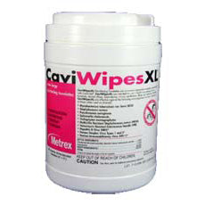 CAVIWIPES 13-1150 SURFACE DISINFECTANT PREMOISTENED WIPEMetrexDisinfecting WipesAOSS Medical Supply