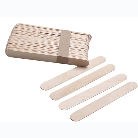 "Wooden Applicator 6"" NONSTERILE - BOX or CASE"