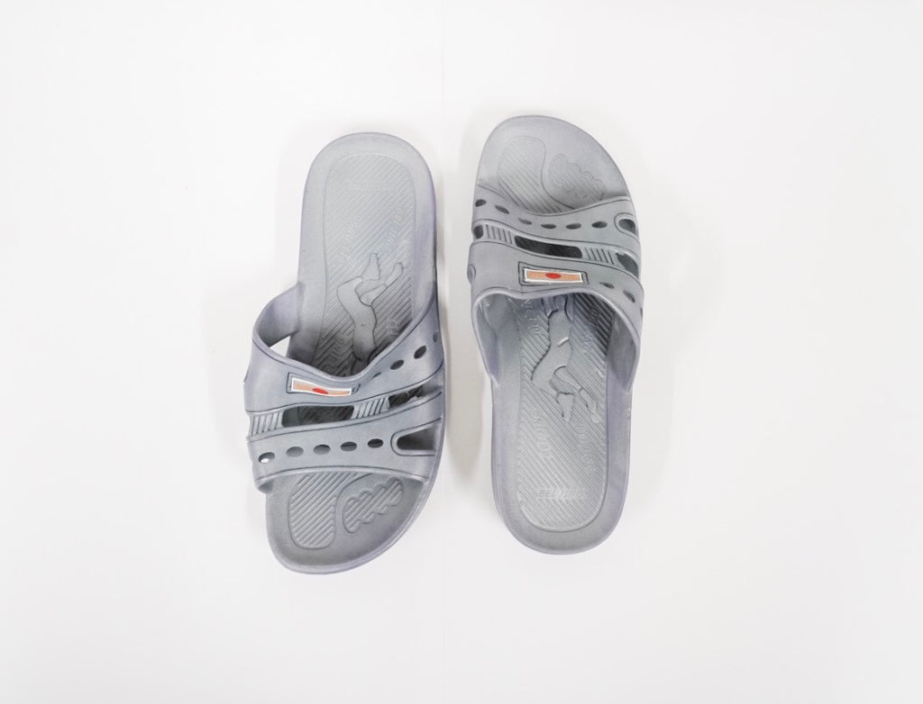 Gray Shower Shoes-PairAOSS Medical SupplyShower ShoeAOSS Medical Supply