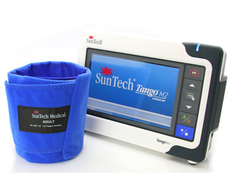 Blood Pressure Monitor Kit SunTech Tango M2 for Q-Stress & Accessories