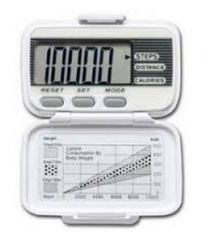 The LifeSource Digital Pedometer