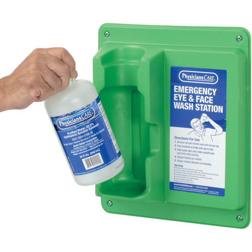 PhysiciansCare®, 32 oz. Single Bottle Eyewash Station, 24-202AOSS Medical SupplyEye WashAOSS Medical Supply