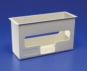 Glove Box Holder & Wall Enclosures SharpSafety™In-Room™ System Wall - AOSS Medical Supply
