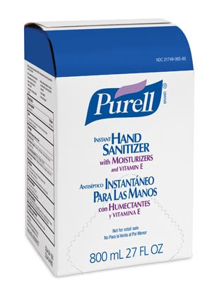 GOJO® Purell® Advanced Instant Hand Sanitizer GelGojoHand SanitizerAOSS Medical Supply
