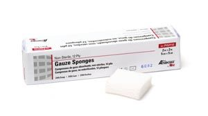 "PRO ADVANTAGE® GAUZE SPONGES - NON-STERILE Gauze Sponge, 2"" x 2""AOSS Medical SupplyAOSS Medical Supply"