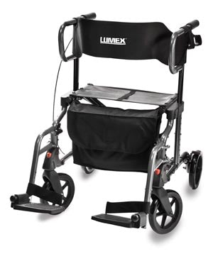 Hybrid LX Rollator Transport Chair, 26